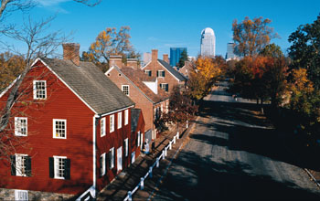 Winston Salem_Old_Downtown
